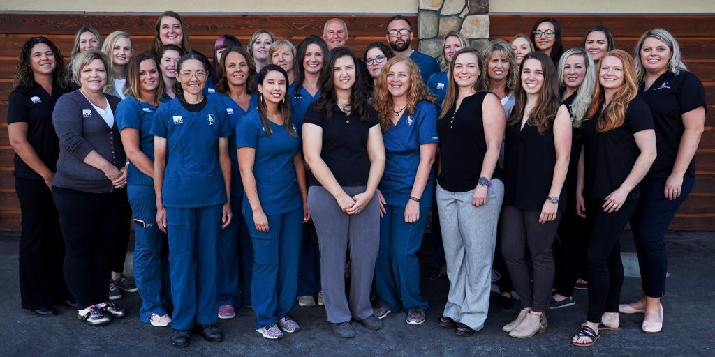 The staff at Idaho Vet Hospital